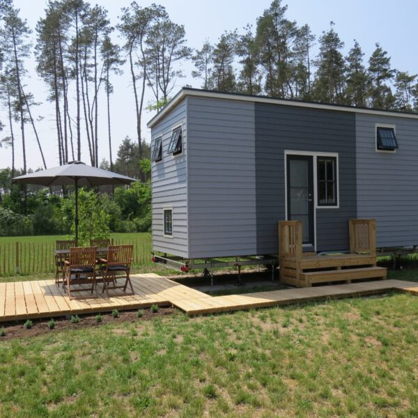 Meyers Tiny House mit Terrasse