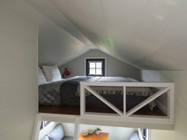 Schlafebene im Tiny House